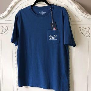 🐳NEW🐳Vineyard Vine Blue T-shirt